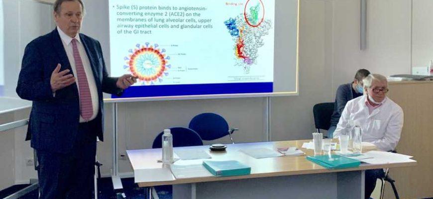 'нарушений у пациентов перенесших коронавирусную'